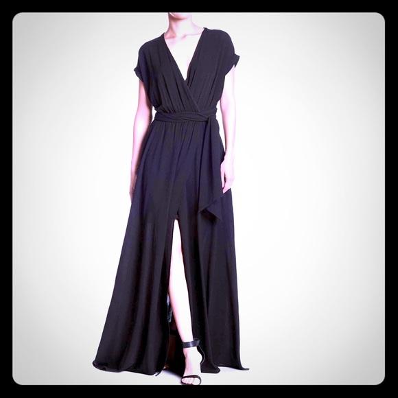 Meghan LA Dresses & Skirts - NEW MEGHAN LA Jasmine hi slit maxi dress $425